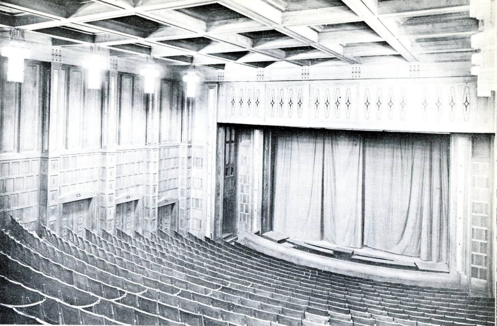 Theatre Database / Theatre Architecture - database, projects